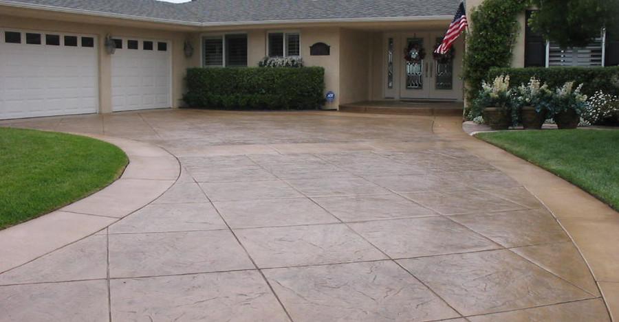 stamped-concrete-driveway-arlington-tx